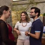 Alyne Dourado, Karine Franco e Rodrigo Ferreira - foto Silvio Simões - 0060