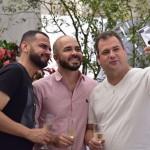 Fábio Ataídes, William Hanna e Kaio Franco - foto Silvio Simões - 0139