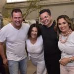 Kaio Franco, Kiara Franco, arq Alexandre Milhomem e Karine Franco - foto Silvio Simões - 0234
